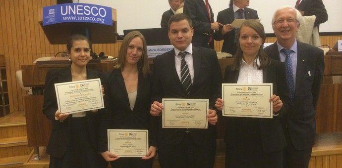 3 étudiants ICN parmi les 4 lauréats du Concours National 2014 – Promotion de l'éthique professionnelle