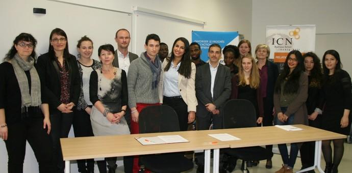 ICN BUSINESS SCHOOL SIGNE UNE CONVENTION DE PARTENARIAT AVEC L'ONG ENACTUS